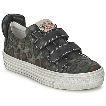 Sapatos Criança Sapatilhas Diesel JERMAN Cinza / Leopardo