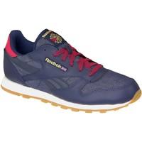 Sapatos Mulher Sapatilhas Reebok Sport Classic Leather DG Bleu marine