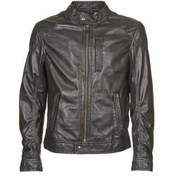 Textil Homem Casacos de couro/imitação couro Oakwood 60835-501 Preto