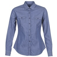 Textil Mulher camisas Yurban FERVINE Azul