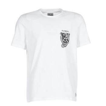 Textil Homem T-Shirt mangas curtas Element ATTACK SS Branco