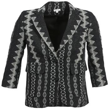 Textil Mulher Casacos/Blazers Manoush TAILLEUR Cinza / Preto