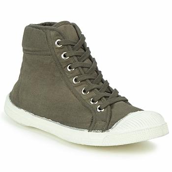 Sapatos Sapatilhas de cano-alto Bensimon TENNIS MID Toupeira