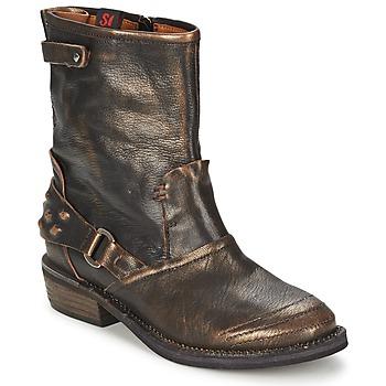 Sapatos Mulher Botas baixas Sans Interdit HASHLEY Canela