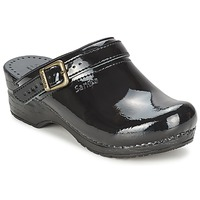 Sapatos Mulher Tamancos Sanita FREYA Preto