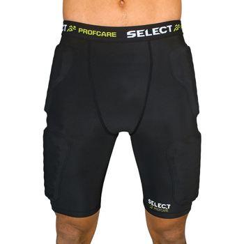 Textil Homem Shorts / Bermudas Select Short de compression avec PADS  6421 noir