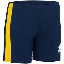 Textil Mulher Shorts / Bermudas Errea Short femme  Amazon bleu marine/blanc