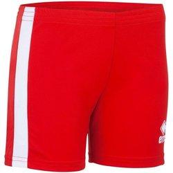 Textil Mulher Shorts / Bermudas Errea Short femme  Amazon rouge/blanc