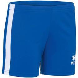 Textil Rapariga Shorts / Bermudas Errea Short femme enfant  Amazon bleu marine/blanc