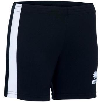 Textil Rapariga Shorts / Bermudas Errea Short femme enfant  Amazon noir/blanc