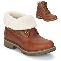 Sapatos Homem Botas baixas Timberland ROLL TOP L/F AF Castanho