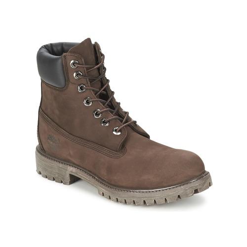 Sapatos Homem Botas baixas Timberland 6 IN PREMIUM BOOT Chocolate