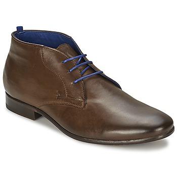 Sapatos Homem Botas baixas Azzaro ISON Castanha