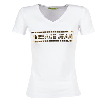 Textil Mulher T-Shirt mangas curtas Versace Jeans B2HPA7GC Branco