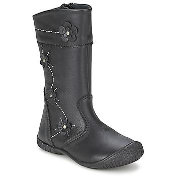 Sapatos Rapariga Botas Citrouille et Compagnie AMATIS Preto