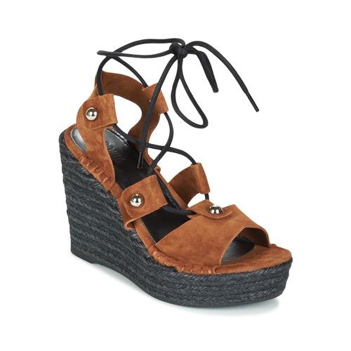 Sapatos Mulher Sandálias Sonia Rykiel 622908 Tabaco