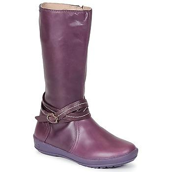 Sapatos Rapariga Botas Garvalin TARDA Malva