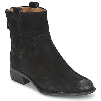 Sapatos Mulher Botas baixas Nine West JARETH Preto