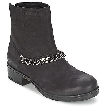 Sapatos Mulher Botas baixas Redskins LEPICA Preto