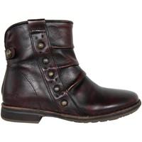 Sapatos Mulher Botins Kickers 440781-30 GROOVINGS Rojo
