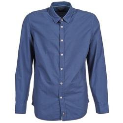 Textil Homem Camisas mangas comprida Marc O'Polo CELSUS Azul / Marinho / Vermelho