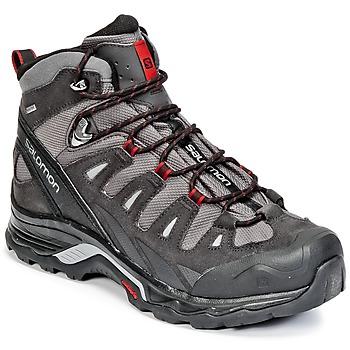 Sapatos Homem Sapatos de caminhada Salomon QUEST PRIME GTX® Cinza / Preto / Vermelho