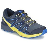 Sapatos Criança Multi-desportos Salomon SPEEDCROSS J Azul / Amarelo