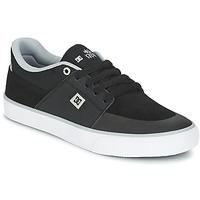 Sapatos Homem Sapatilhas DC Shoes WES KREMER M SHOE XKSW Preto / Cinza / Branco