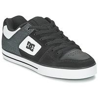 Sapatos Homem Sapatos estilo skate DC Shoes PURE SE M SHOE BKW Preto / Branco