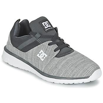 Sapatos Homem Sapatilhas DC Shoes HEATHROW SE M SHOE GRH Cinza