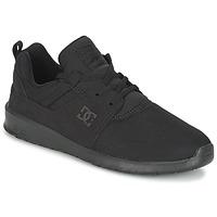 Sapatos Homem Sapatilhas DC Shoes HEATHROW M SHOE 3BK Preto
