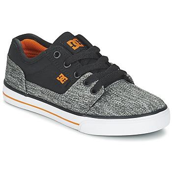 Sapatos Rapaz Sapatilhas DC Shoes TONIK TX SE B SHOE BGY Preto / Cinza
