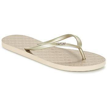Sapatos Mulher Chinelos Roxy VIVA III J SNDL GLD Ouro