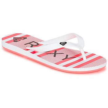 Sapatos Rapariga Chinelos Roxy RG TAHITI V G SNDL WBD Branco / Preto / Rosa