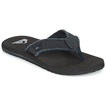 Sapatos Homem Chinelos Quiksilver MONKEY ABYSS Preto