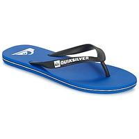 Sapatos Homem Chinelos Quiksilver MOLOKAI Preto / Azul / Branco