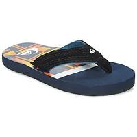 Sapatos Criança Chinelos Quiksilver BASIS-YT B SNDL XBWN Preto / Azul / Laranja