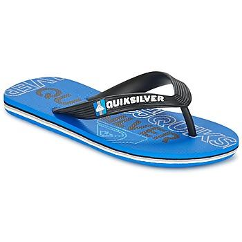 Sapatos Criança Chinelos Quiksilver MOLOKAI NITROYT Preto / Azul