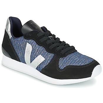 Sapatos Mulher Sapatilhas Veja HOLIDAY LOW TOP Prata
