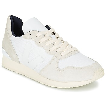 Sapatos Mulher Sapatilhas Veja HOLIDAY LOW TOP Branco / Bege