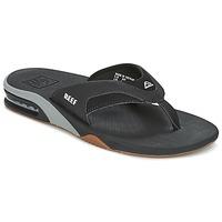 Sapatos Homem Chinelos Reef FANNING Preto / Cinza