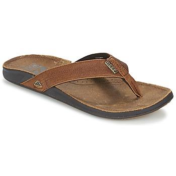 Sapatos Homem Chinelos Reef REEF J-BAY III Camel