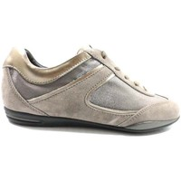 Sapatos Mulher Sapatilhas Tod's AZ570 Bege