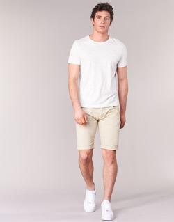 Textil Homem Shorts / Bermudas Armani jeans OFAGORA Bege