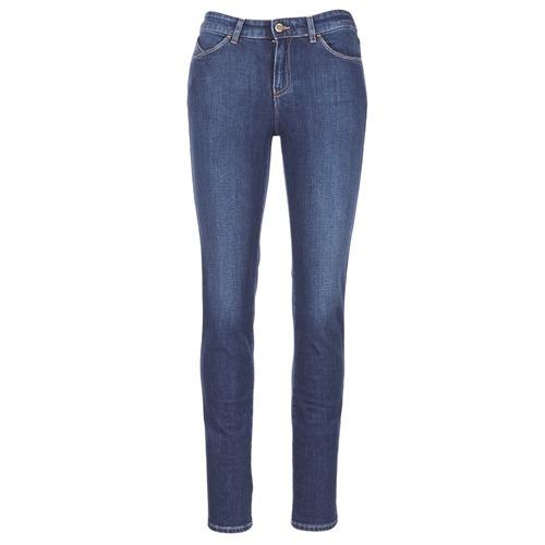 Textil Mulher Calças de ganga slim Armani jeans GAMIGO Azul