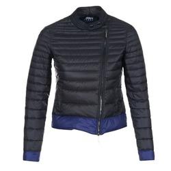 Textil Mulher Quispos Armani jeans BEAUJADO Preto / Azul