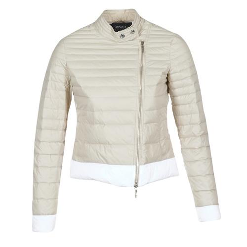 Textil Mulher Quispos Armani jeans BEAUJADO Bege / Branco
