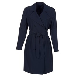 Textil Mulher Trench Armani jeans HAVANOMA Azul