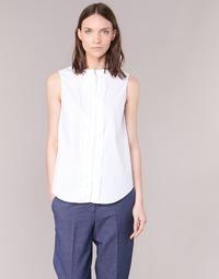 Textil Mulher camisas Armani jeans GIKALO Branco