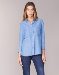 Textil Mulher camisas Armani jeans OUSKILA Azul